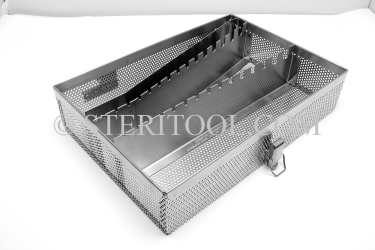 #20230 - Stainless Steel Sterilization Tray for Hex Keys. tool box, stainless steel, tote, chest, storage, portable