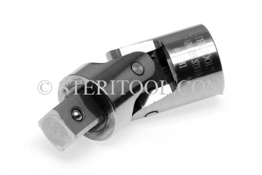 #10581 - Stainless Steel 1/2 DR Universal Joint. 1/2 dr, 1/2dr, 1/2-dr, universal, flex, joint, stainless steel