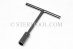 #30323 - 10mm Stainless Steel 'T' Nut Driver. - 30323