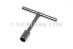 #30325 - 12mm Stainless Steel 'T' Nut Driver. - 30325