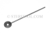 "#90053_SP12 - 1.25mm Thick Stainless Steel ""Lollipo"" Gauge Stick, 12""(300mm) Handle. - 90053_SP12"
