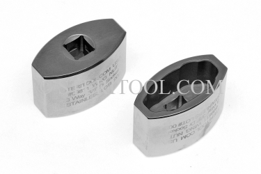 #99811 - 3/8 DR Stainless Steel Wing Nut Socket. Fits 3 diffrent sizes. wing nut socket, stainless steel, 3/8 dr, 3/8-dr, 3/8dr