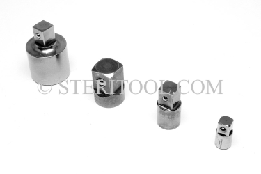 #10495 - 3/8dr Female to 1/4dr Male Stainless Steel Adaptor. 3/8 dr, 3/8dr, 3/8-dr, 1/4 dr, 1/4dr, 1/4-dr, adaptor