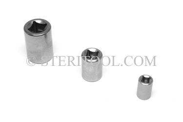 #90005 - 1/4 DR Stainless Steel Collar. 316SS. 1/4 dr, 1/4dr, 1/4-dr, collar, custom, fabrication
