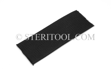 "#10440 - 1.5"" NYLON (Black)Webbing, per foot. ratchet tie-down, strapping, rigging, stainless steel"